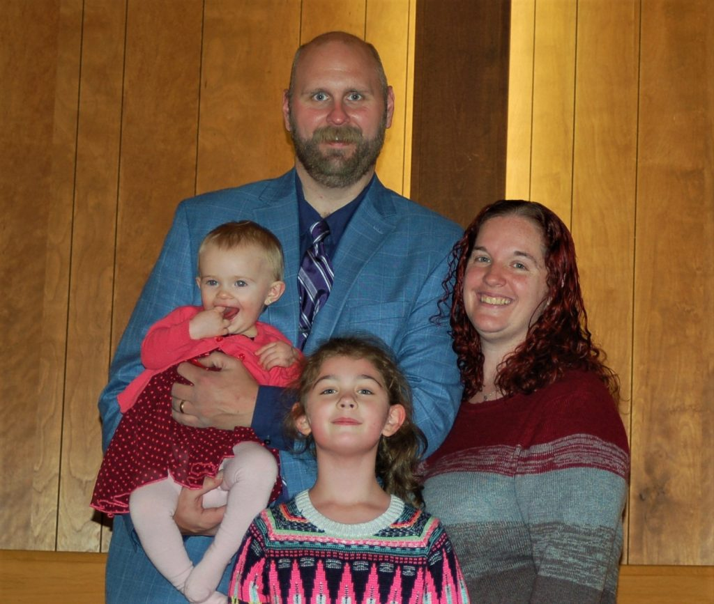 Pastor Stephen and Family